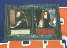 2020 The Complete Game of Thrones DC2 The Hound Jaqen H'ghar Capes Costume Card