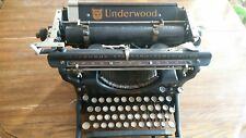 Underwood standard typewriter no 3