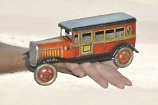 Rare Vintage Wind Up CK. Trademark Car Tin Toy, Japan