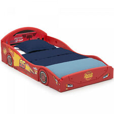 Toddler Race Car Bed Boys Disney Pixar Cars Lightning McQueen Kid Child Bedroom