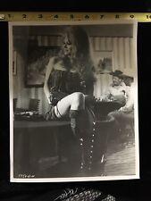 Vintage Brigitte Bardot Western Movie Press Photo