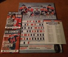 Connor McDavid Rookie Rexall Package 4 Items Poster 2 Programs Sheet Lot