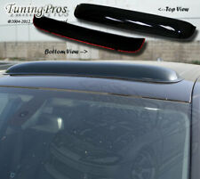 Chevy S10 S-10 1982-1993 3pc Wind Deflector Outside Mount 2.0mm Visors & Sunroof