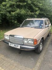Mercedes W123 230 TE Auto For Parts