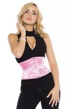 Steel Bone Waist Trainer/ Underbust Corset. Satin Pink. Size 20. RRP £40