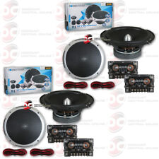 """4 x SOUNDSTREAM PF.6 6.5-INCH 6.5"""" 2-WAY CAR AUDIO COMPONENT SPEAKERS"""
