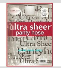 WHITE QEEN SIZE WOMAN lady ultra sheer panty hose pantyhose stocking