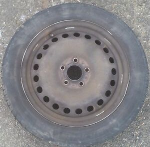 Ford Winter Alloy Wheel Saver - 4 steel wheels, with tyres - swap your alloys