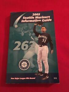2005 MLB Seattle Mariners media guide / Beltre / Boone / Ibanez / Ichiro / Moyer