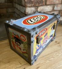 LEGO Rustic large industrial look storage chest / trunk.  (40cm long)