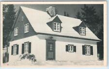 LAC MERCIER, QUEBEC  Canada    MONT TREMBLANT LODGE Vintage Postcard