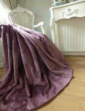 "LAURA ASHLEY Velvet Luxury Curtains 78x57"" INTERLINED Blackout HEAVY Pair 2 of 2"