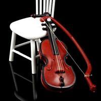 1:12 Dolls House Instrument Mini Instrument Violin Miniature Music Model Room