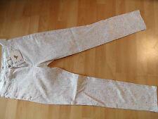 MIH Jeans super skinny leg, high rise weiß  Farbspritzer BONN Gr. 27 NEU BI616
