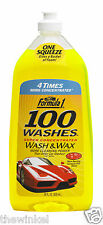 Formula 1 100 Washes Conc. Wash & Wax 828ml