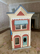 Vintage Miniature Dollhouse Victorian Style Child's Toy Doll House Building