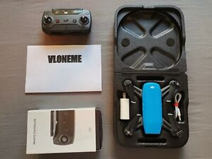 DJI Spark Drone Sky Blue with Battery, Charger, Case, and Remote Control