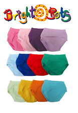 Bright Bots Boys Potty Training Washable Pull Up Trainer Pants 4pk XL -CLEARANCE