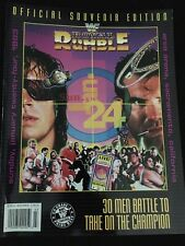 WWF Royal Rumble 1993 Classic WWE Special Edition Program Magazine Excellent