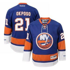 Kyle Okposo Reebok New York Islanders Official Home Blue Premier Jersey Men's