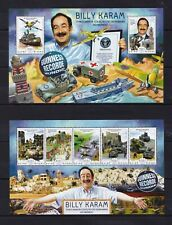 GuineaBissau 2014 - BILLY KARAM - Cars collection Guiness record stamps MNH** XW