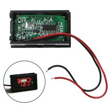 12V Lead-Acid Battery Capacity LED Display Digital Indicator Voltmeter Tester