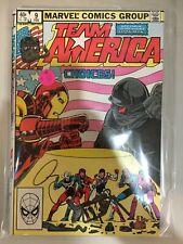 Team America 9 10 11 12 Nm- Great Copper Age shape 4 comic set lot run Iron Man