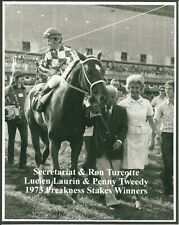 "1973 - SECRETARIAT & Connections after the Preakness Stakes - 8"" x 10"""