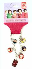 One Direction 1D Full Band Charm Bracelet New Official Band Merch NWT