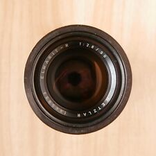 Leica Leitz Elmarit-R 90mm f2.8 one cam 11229  for Leicaflex, recent CLA by DAG