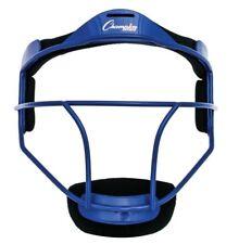 Champion Sports Softball ADULT Pitcher / Fielder Mask, Wide Vision, Blue