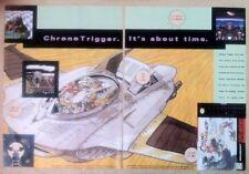 Chrono Trigger SNES Poster Ad Print Super Nintendo Retro