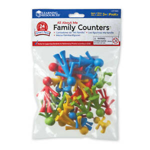 Family Counters Smart Pack: math concepts such as counting, sorting, patterning.