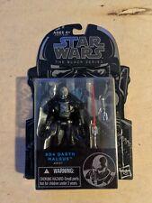 "2014 Star Wars Black Series Darth Malgus #04 3.75"" Action Figure New Hasbro Sith"