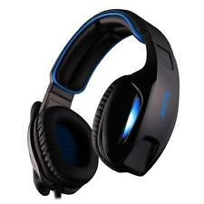 Wired Foldable Video Game Headsets for PCs