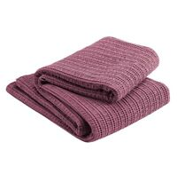 Christy Atlas Plum Throw 220x200cm  RRP: £80