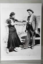 Bonnie Parker and Clyde Barrow,1932,  Kunst-Postkarte