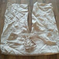 Talbots Irish Linen Pants Size 12 Excellent Condition