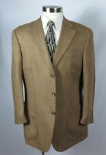 NICK HILTON Sport Coat 44R 44 Gold - Silk & Wool - ITALY - Nice Sheen $495