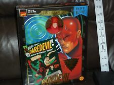 MARVEL FAMOUS COVERS DAREDEVIL BLACK WIDOW FALCON 8 INCH FIGURES SET 1998