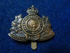 Orig WW1 Cap Badge '1st Mounted Rifle Battalion' Brandon - Manitoba