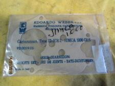UNE POCHETTE DE JOINT CARBURATEUR WEBER 32 ICR 2 SIMCA  900 1000 GLS 1000 RALLY