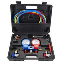 2-Wege Monteurhilfe Klimaanlage f¨¹r R134a R22 R12 R404A R410A R502 Manometer Set