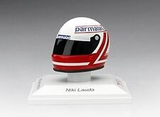 Helmet Niki Lauda 1982 McLaren Parmalat 1:8 Replica Model TRUE SCALE MINIATURES