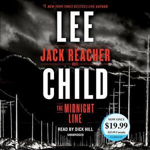 Lee Child THE MIDNIGHT LINE (Jack Reacher) Unabridged CD *NEW* FAST Ship!