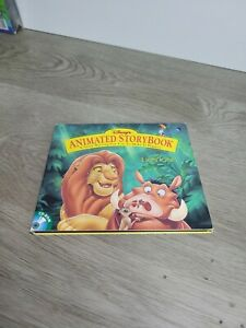 The Lion King  Animated Story Book - Disney 1994 - Interactive CD Rom Windows