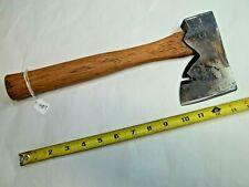 "Plumb Vintage Offset Carpenters Hewing Axe / Hatchet, 3-3/4"" Wide Bit, USA"