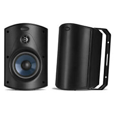 NEW! Polk Audio Atrium 5 (Black) 2-Way In/Outdoor Speakers (1 Pair)