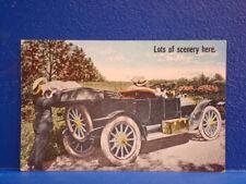 c1910 Comic Postcard/LOTS OF SCENERY HERE