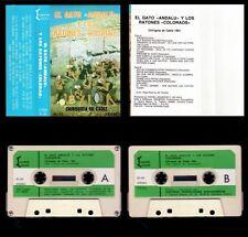 EL GATO ANDALU Y LOS RATONES COLORAOS - SPAIN CASSETTE 1981 - NUEVO PRECINTADO